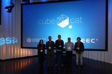 Members of the ³Cat-4, ESA/ESTEC