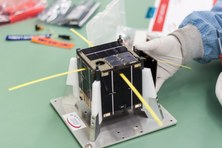 ³Cat-1 final integration of PV panels in launch provider's clean-room