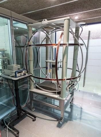 Helmholtz Coil System
