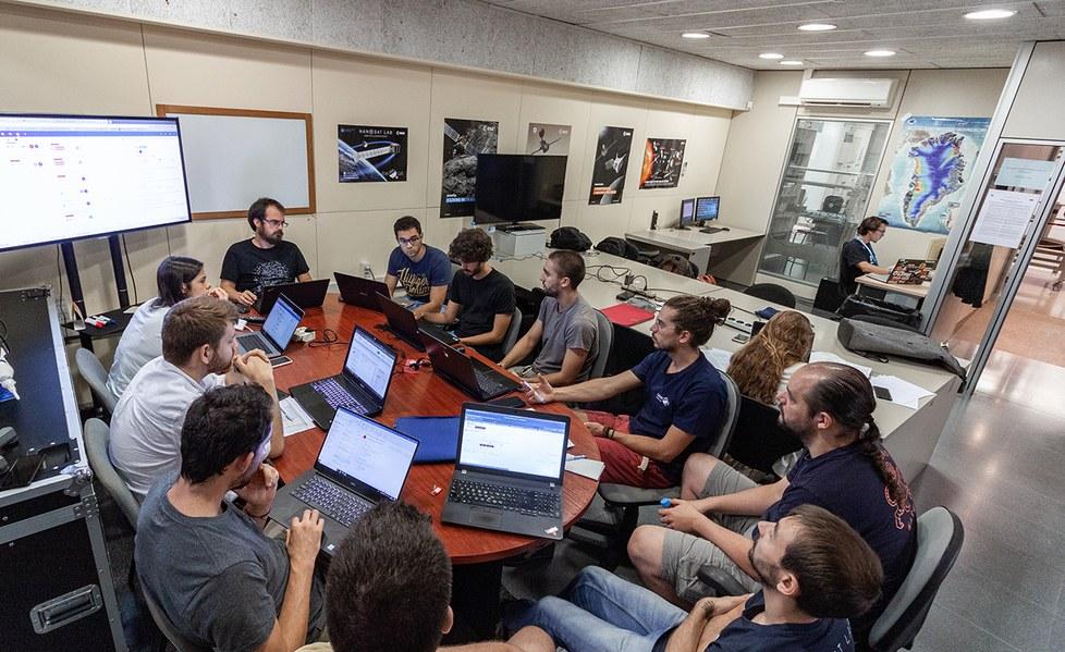 Meeting room at NanoSat Lab
