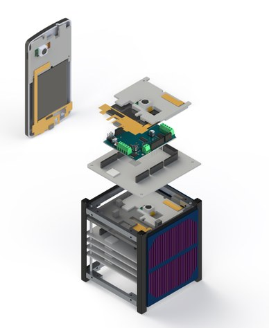 The ABS unit, CAD render